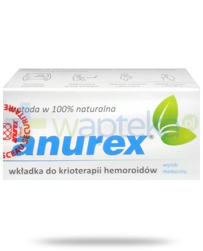 Anurex wkładka do krioterapii hemoroidów 1 sztuka