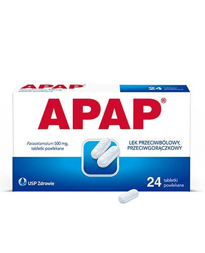 Apap 500mg 24 tabletki