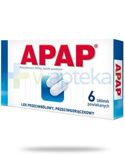 Apap 500mg 6 tabletek