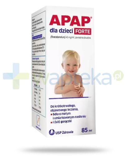 Apap dla dzieci Forte zawiesina doustna 85 ml
