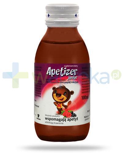Apetizer Junior Syrop o smaku malinowo-porzeczkowym 100 ml