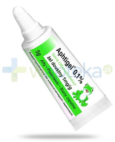 Aphtigel 0,1%, żel doustny 5 g