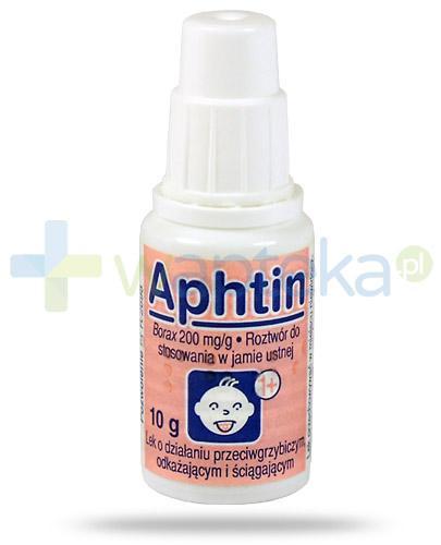 Aphtin 200mg/g roztwór do stosowania w jamie ustnej 10 g