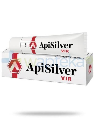 APISILVER VIR preparat łagodzący zmiany skórne 3ml