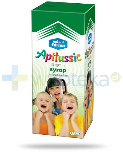 Apitussic syrop na kaszel dla dzieci 2 x 120 ml - Data ważności 31-01-2017 WYPRZEDAŻ