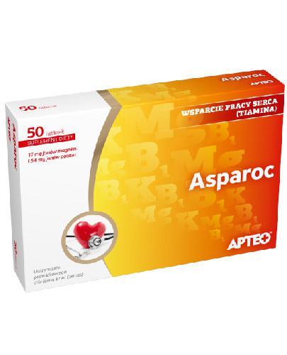 Apteo Asparoc 50 tabletek