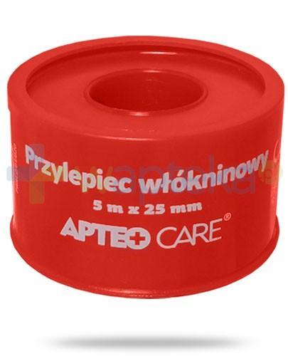 Apteo Care przylepiec włókninowy (czerwony) 5m x 25mm