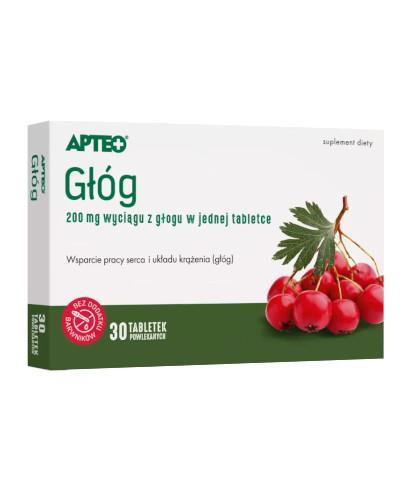 Apteo Głóg 30 tabletek