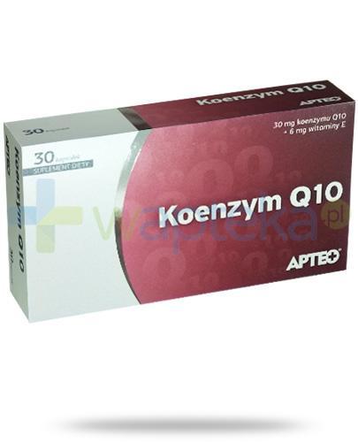 Apteo Koenzym Q10 30 kapsułek