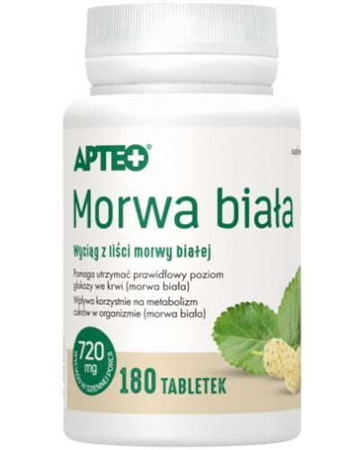 Apteo Morwa biała 180 tabletek