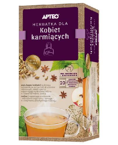 Apteo Natura herbatka dla kobiet karmiących 20 saszetek