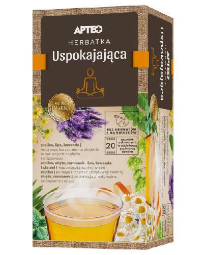 Apteo Natura herbatka uspokajająca z pomarańczą 20 saszetek