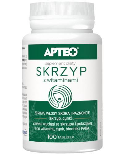 Apteo Skrzyp z witaminami 100 tabletek