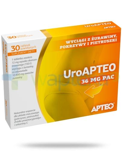 Apteo Uroapteo 30 tabletek