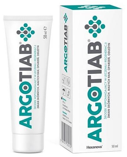 ArgoTiab 2% krem przyspieszający proces gojenia ran 50 ml