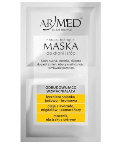ArMed naturalna maska do dłoni i stóp 2 x 10 ml