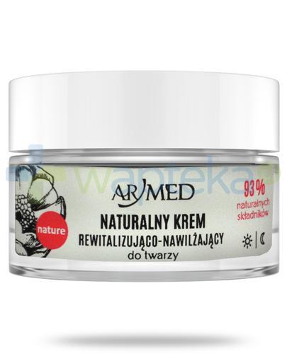 ArMed naturalny wygłądzajacy krem rewitalizująco-nawilżający do twarzy 50 ml