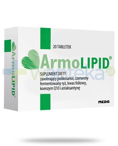 ArmoLipid 20 tabletek - Data ważności 28-02-2017
