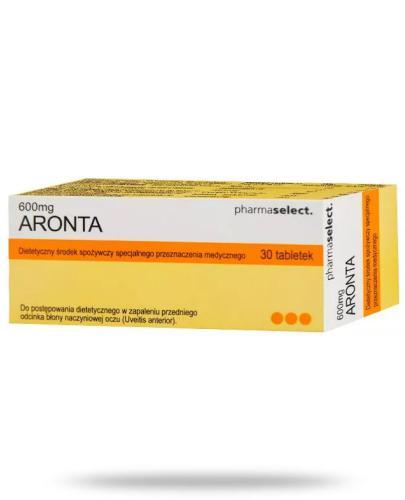 Aronta 600mg dietetyczny środek spożywczy 30 tabletek