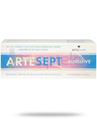 ArtreSept Sensitive opatrunek ochronny w żelu na rany 20 ml