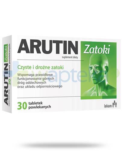 Arutin Zatoki 30 tabletek - Data ważności 30-09-2017