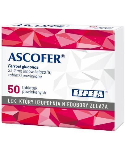 Ascofer 50 tabletek powlekanych
