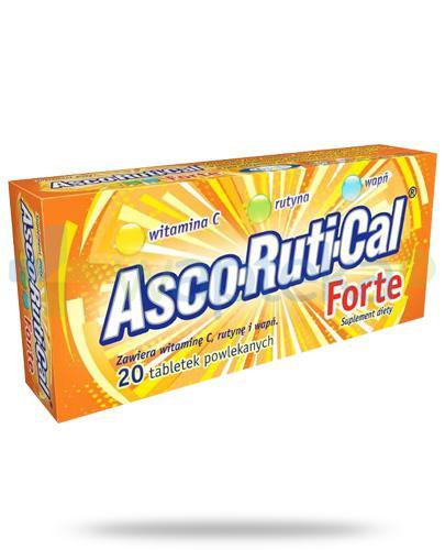 AscoRutiCal Forte tabletki powlekane 20 sztuk