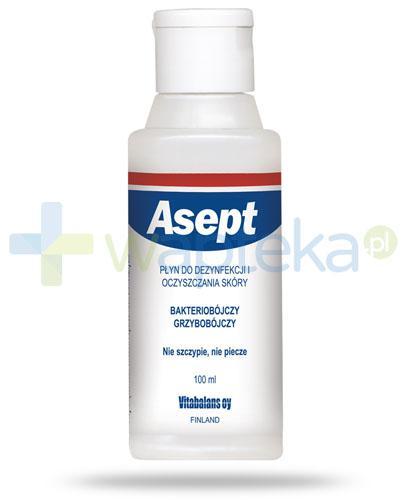 Asept płyn do dezynfekcji i oczyszczania skóry 100 ml