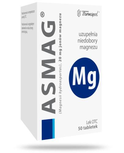 Asmag 20mg 50 tabletek