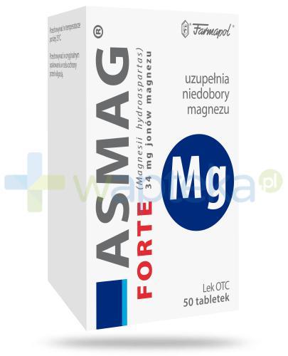 Asmag Forte 34mg 50 tabletek