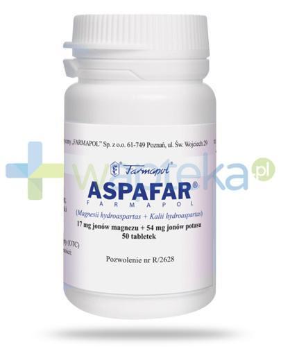 Aspafar 50 tabletek