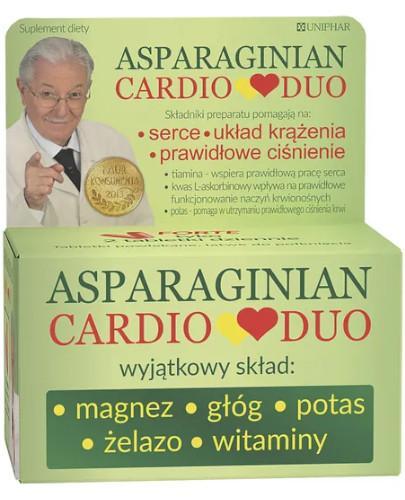 Asparaginian CardioDuo 50 tabletek