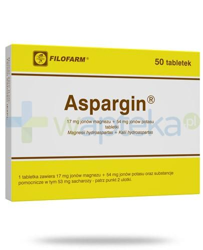 Aspargin 17 mg + 54 mg 50 tabletek