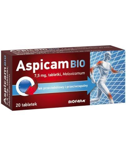 Aspicam Bio 7,5mg 20 tabletek [Data ważności 31-05-2019]