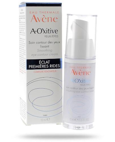 Avene A-Oxitive Krem wygładzający kontur oczu 15 ml - wapteka.pl