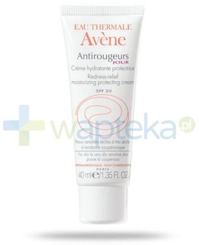 Avene Antirougeurs Jour krem nawilżający na dzień skóra sucha 40 ml