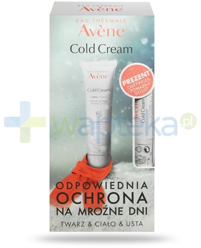 Avene Cold Cream krem 100 ml + odżywcza pomadka do ust 4 g [ZESTAW]