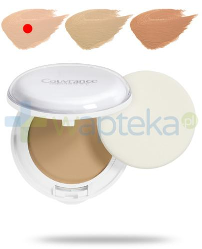 Avene Couvrance Comfort SPF30 kremowy podkład w kompakcie 01 porcelanowy 10 g + kosmetyczka [GRATIS]