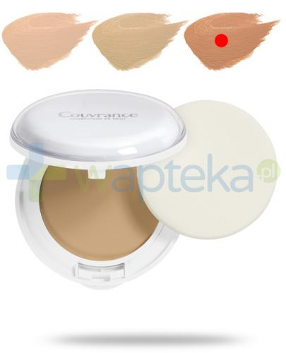 Avene Couvrance Comfort SPF30 kremowy podkład w kompakcie 03 piaskowy 10 g + kosmetyczka [GRATIS]