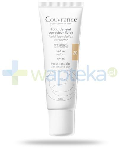 Avene Couvrance fluid korygujący Natural 2.0 SPF20 do skóry wrażliwej 30 ml
