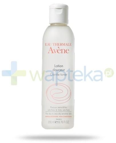 Avene Delikatny Tonik 200ml + Różowa kosmetyczka GRATIS!