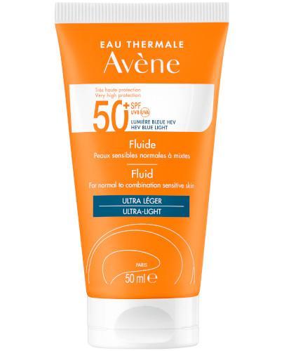 Avene fluid SPF 50+ bardzo wysoka ochrona 50 ml - wapteka.pl