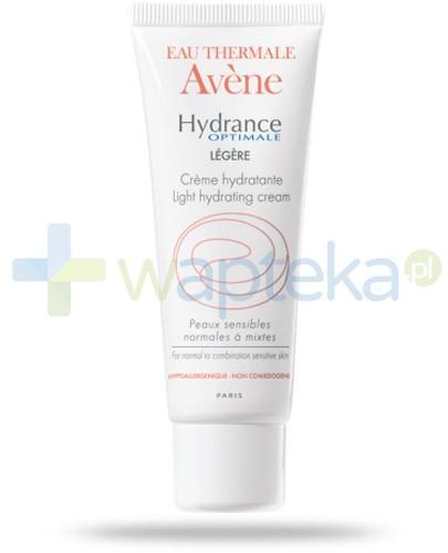 Avene Hydrance Optimale Legere lekki krem odżywczo nawilżający 40 ml