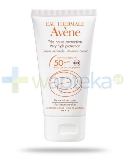 Avene Krem mineralny z ochroną przeciwsłoneczną SPF 50+ 50ml