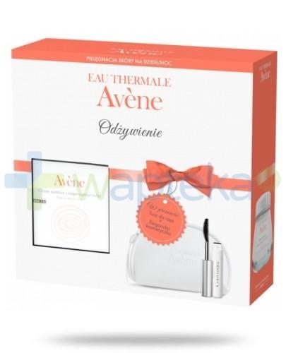 Avene Krem odżywczy 50ml + AveneTusz do rzęs + Kosmetyczka