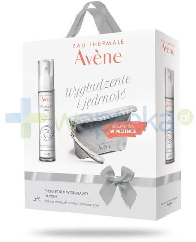 Avene Wygładzenie i jędrność Physiolift dzień krem wygładzający na dzień 30 ml + kosmetyczka [ZESTAW]