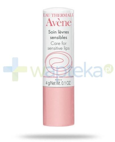 Avene Pomadka pielęgnayjna do ust wrażliwych 4 g