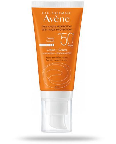 Avene Sun Confort SPF50+ krem ochronny 50 ml - wapteka.pl