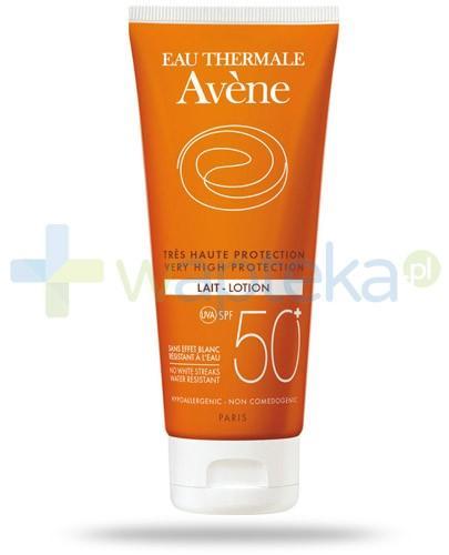Avene Sun SPF50+ mleczko do ciała do skóry wrażliwej 250 ml