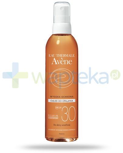 Avene Sun SPF30 olejek do ciała 200 ml [Data ważności 30-09-2020] - wapteka.pl